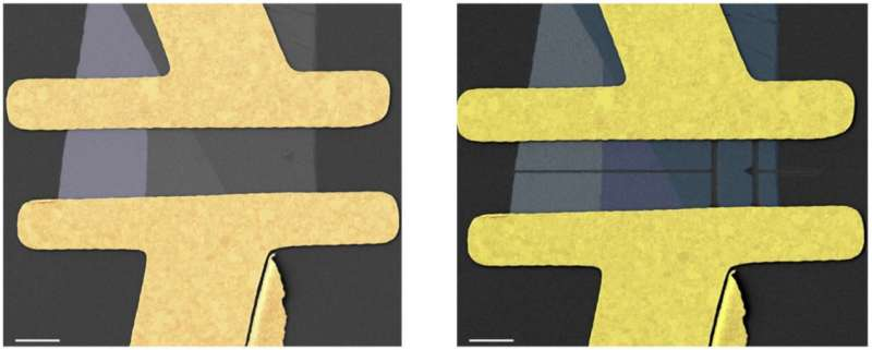 Direct after-fabrication tailoring of MoS2-FET transistors