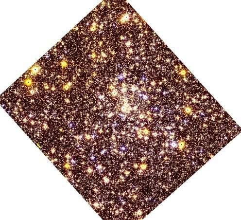Djorgovski 2 is a moderately metal-poor globular cluster, study finds