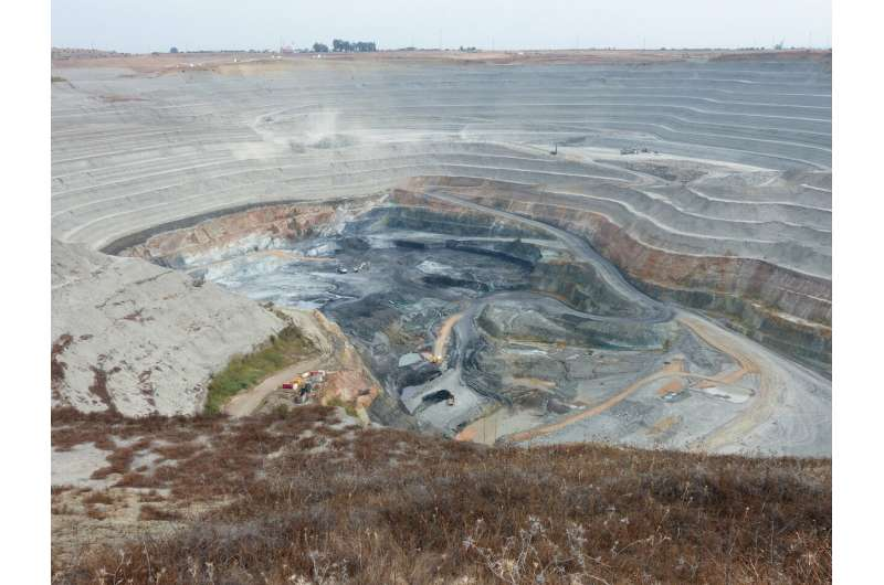 Do microbes control the formation of giant copper deposits?