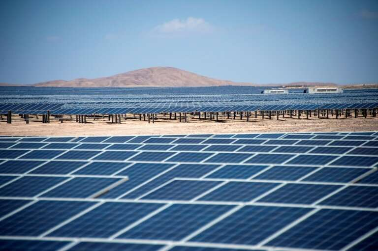Double-digit growth last year in solar and wind power generation was still not fast enough to meet soaring electricity demand th