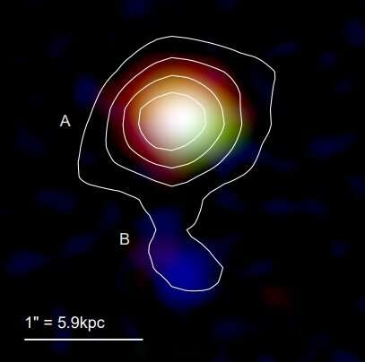 Dusty star-forming galaxy MAMBO-9 investigated in detail