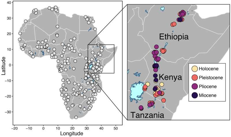 Early humans evolved in ecosystems unlike any found today