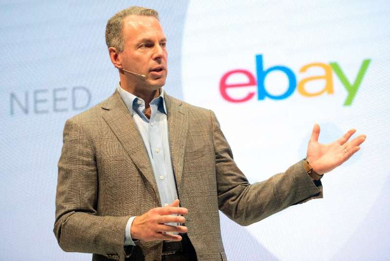 """eBay CEO Devin Wenig said the company's new """"Managed Delivery"""" will eable sellers to store inventory in warehouses for"""