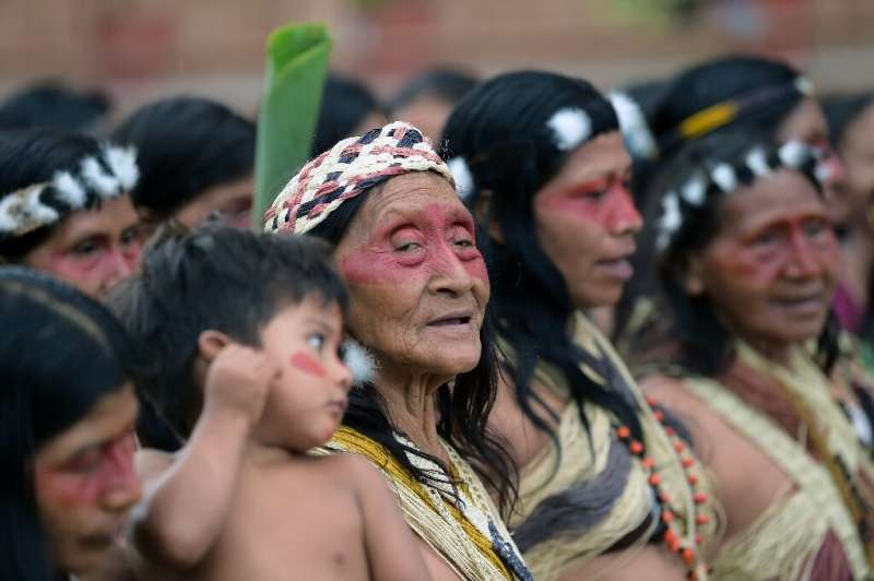 Ecuador's constitution recognizes the Waorani rights to 800,000 hectares of jungle; crucially, the wealth in the subsoil belongs