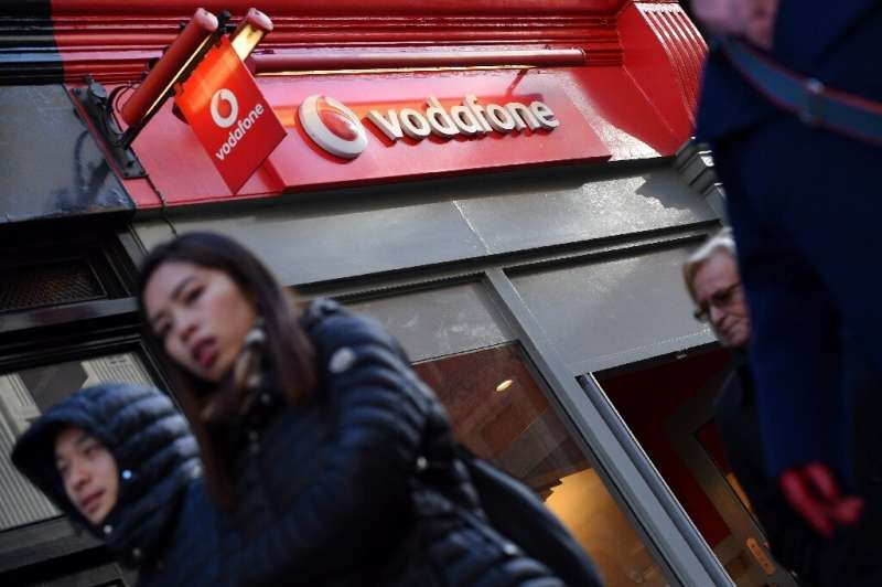 Egyptian authorities have said they fined the national branch of mobile phone giant Vodafone 500,000 euros over a coverage outag
