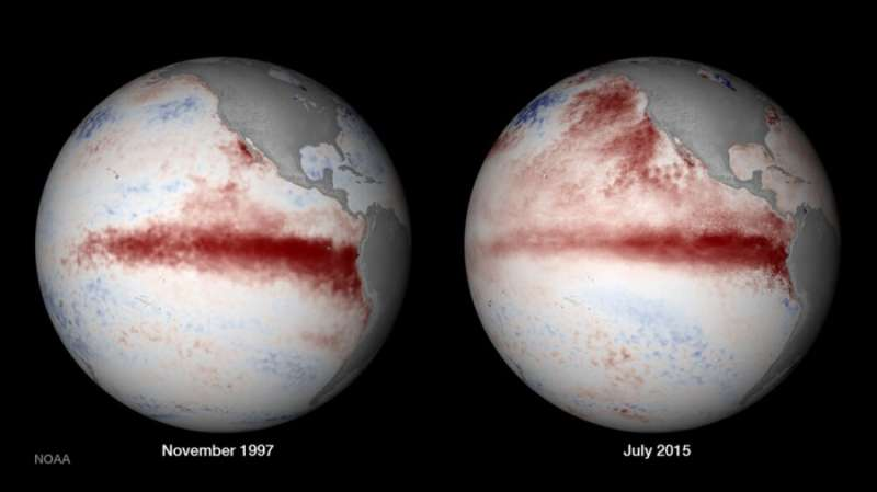 El Nino swings more violently in the industrial age, compelling hard evidence says