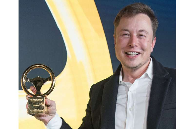 """Elon Musk hailed hailed """"outstanding"""" German engineering as a factor in his choice of a site near Berlin"""