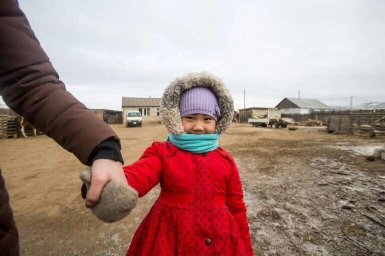 Erdene-Bat Naranchimeg's daughter Amina battled illness virtually from birth, her immune system handicapped by the smog-choked a