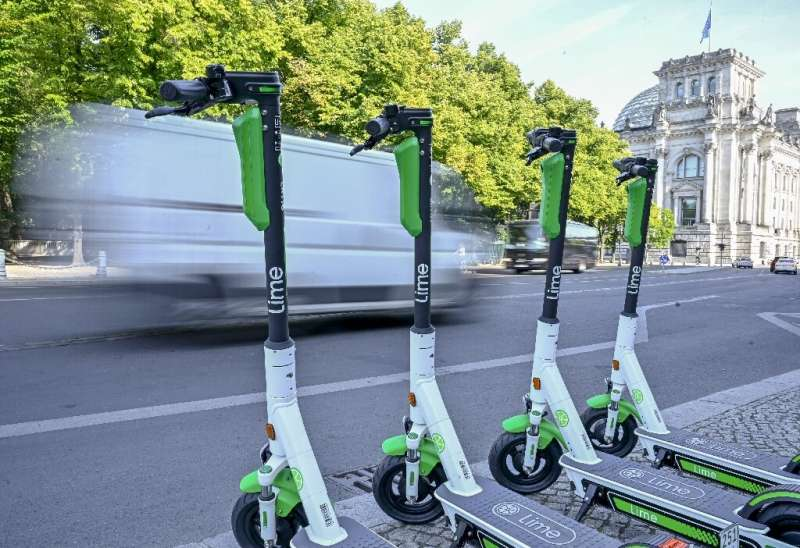 E-scooters touted as zero-carbon urban transport are flooding city streets worldwide, but just how green they are remains an ope