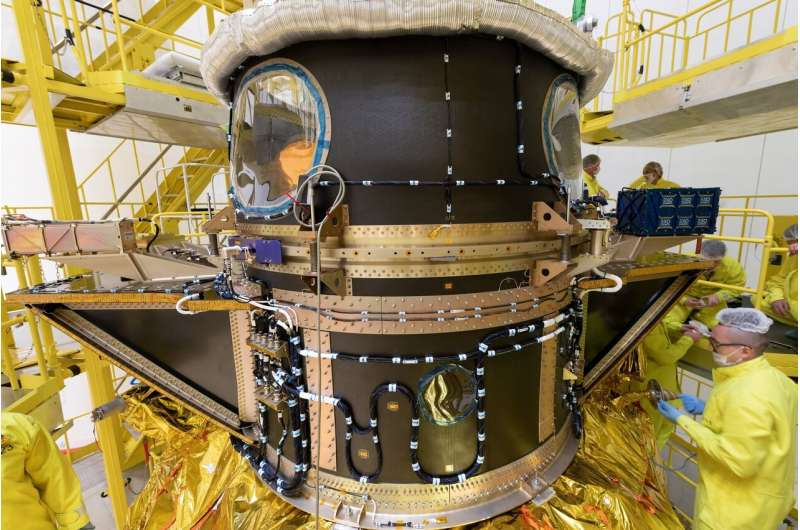 European planet-studying mission launches from South America