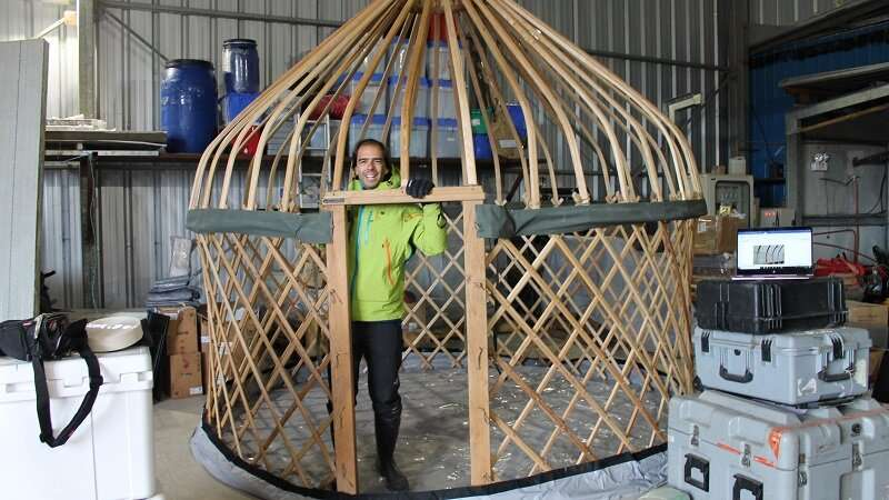 Extreme eco tent tested in Antarctica