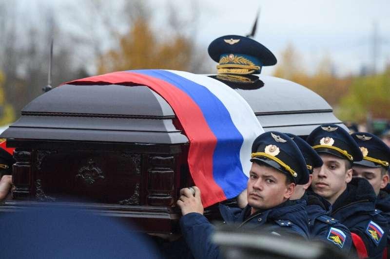 Fellow astronauts took turns to pay tribute to Soviet cosmonaut Alexei Leonov
