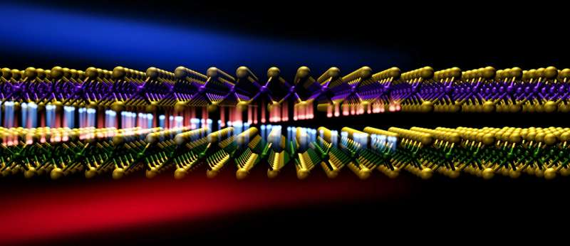 First direct view of an electron's short, speedy trip across a border