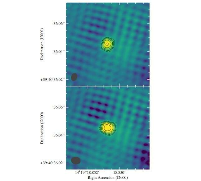"""FIRST J141918.9+394036 is an """"orphan"""" long gamma-ray burst, study finds"""