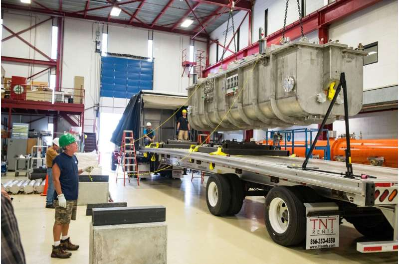 First major superconducting component for new high-power particle accelerator arrives at Fermilab