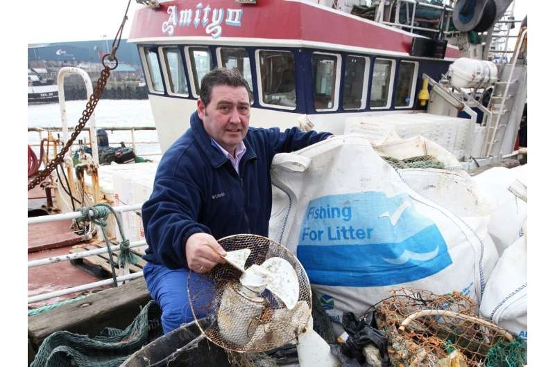 Fishers keen to help address the problem of marine litter
