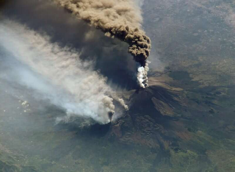 Forces from Earth's spin may spark earthquakes and volcanic eruptions at Mount Etna