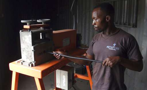 For Ghana e-waste recyclers, a safer option amid toxic fumes