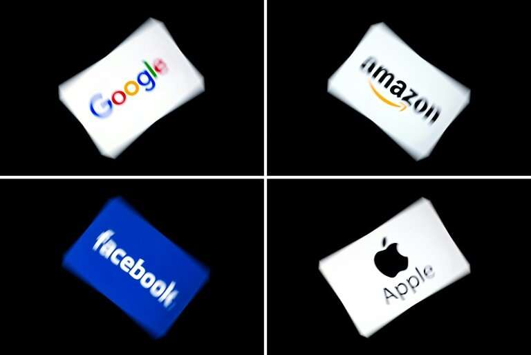 """France has been driving hard for a new so-called """"GAFA tax""""—named after Google, Apple, Facebook and Amazon—to ensure t"""