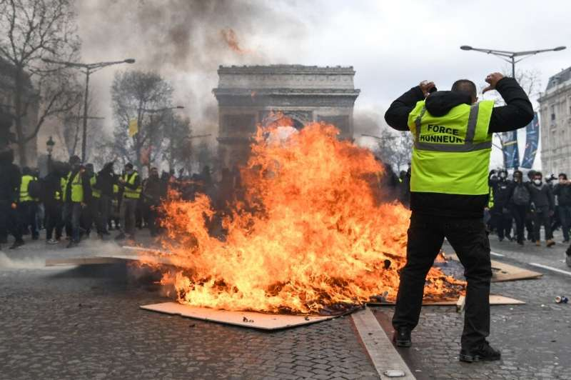 "France's yellow vest protests were sparked by anger at an ""ecotax"", a hike in tax on petrol"