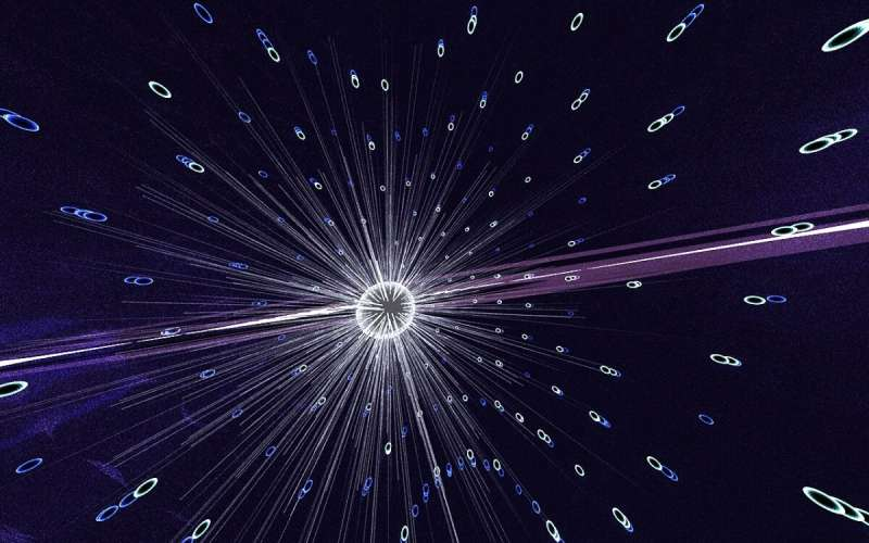 Glass fibers and light offer new control over atomic fluorescence