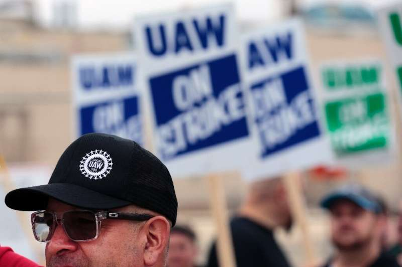 """GM workers went out on strike September 16, and union negotiators say talks have taken """"a turn for the worse"""""""