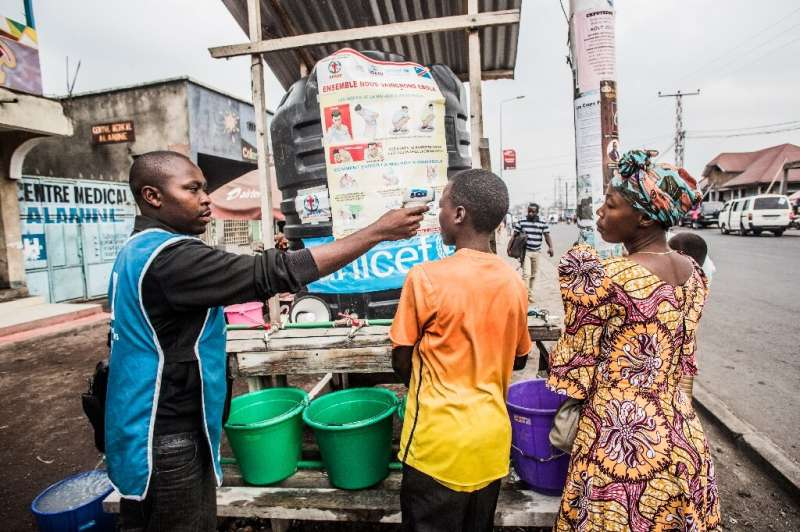 Goma's population density heightens the risk of Ebola spreading