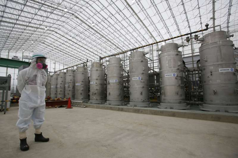 Government proposes release of Fukushima water to sea or air