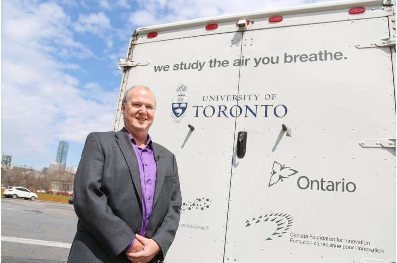 Harmful emissions from traffic, trucks, SUVs: New national air pollution report