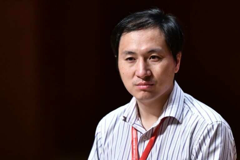 He Jiankui shocked the scientific community last year after announcing he had successfully altered the genes of twin girls born