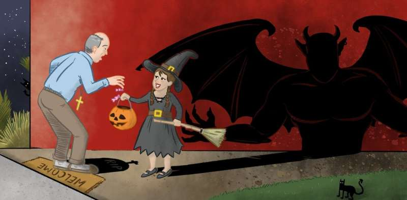 Hell, no! Halloween is not 'satanic' – it's an important way to think about death