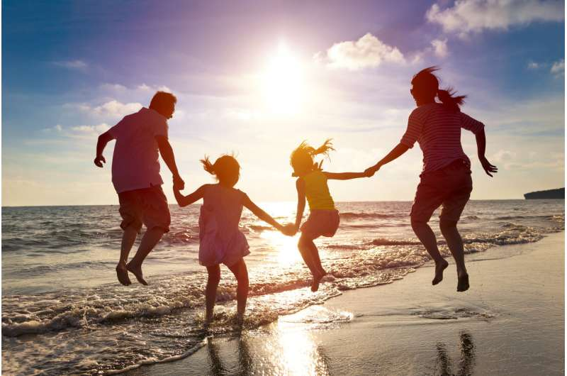 How children influence the life expectancy of their parents