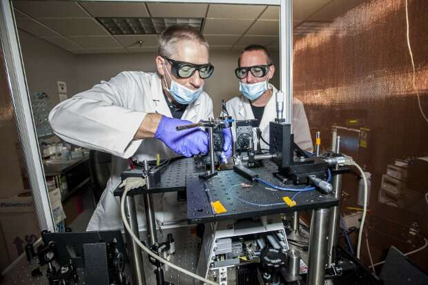 """How """"optical tweezers"""" could address one of crime labs' biggest challenges"""