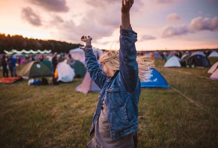 How your phone can interrupt the good vibes of a summer music festival