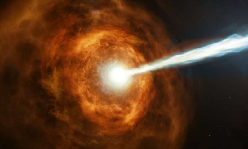 Hubble studies gamma-ray burst with the highest energy ever seen