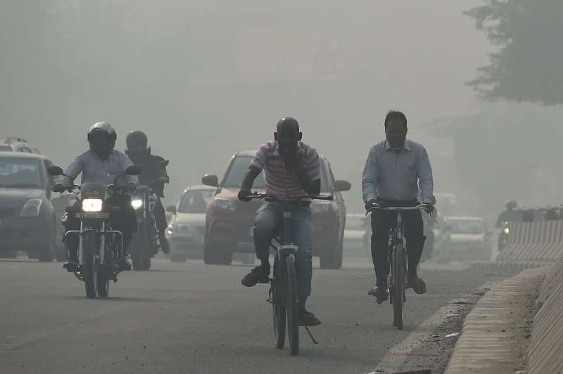 Human health is also at risk from current energy use patterns, seen here in the recent deadly smog which hit the Indian capital