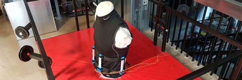Human torso simulator offers promise for new back brace innovations
