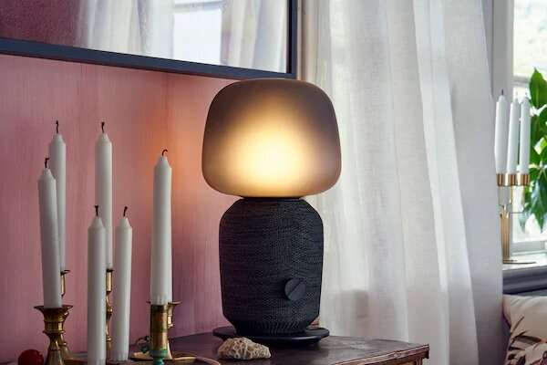 IKEA and Sonos team up for SYMFONISK speakers and a lamp