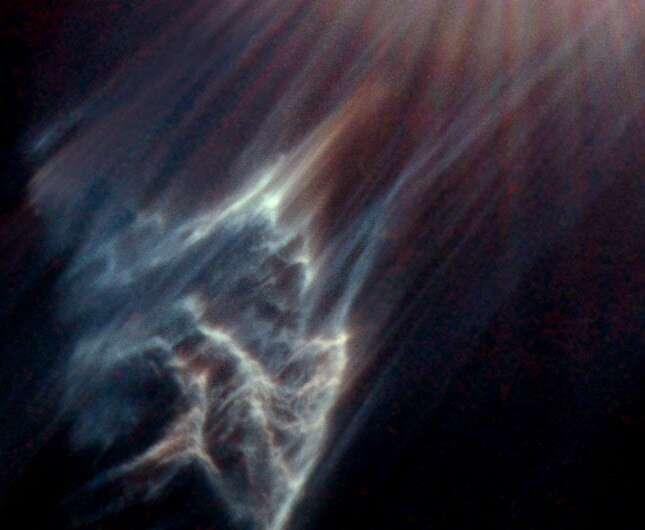 Image: A ghost in the Pleiades