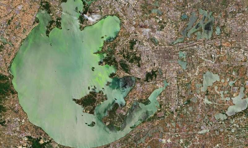 Image: Lake Tai, China