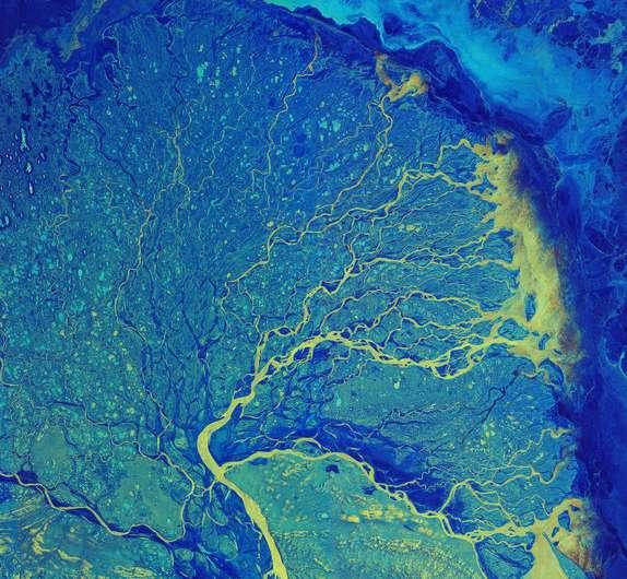 Image: Lena River Delta