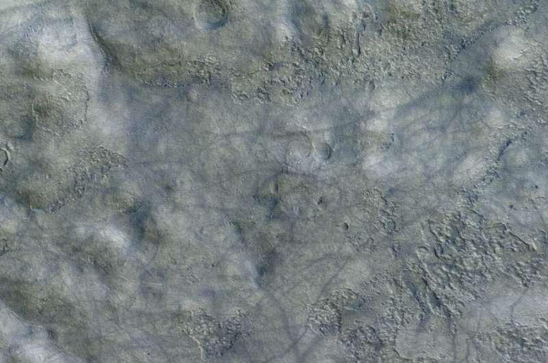 Image: Mars dust devil detail