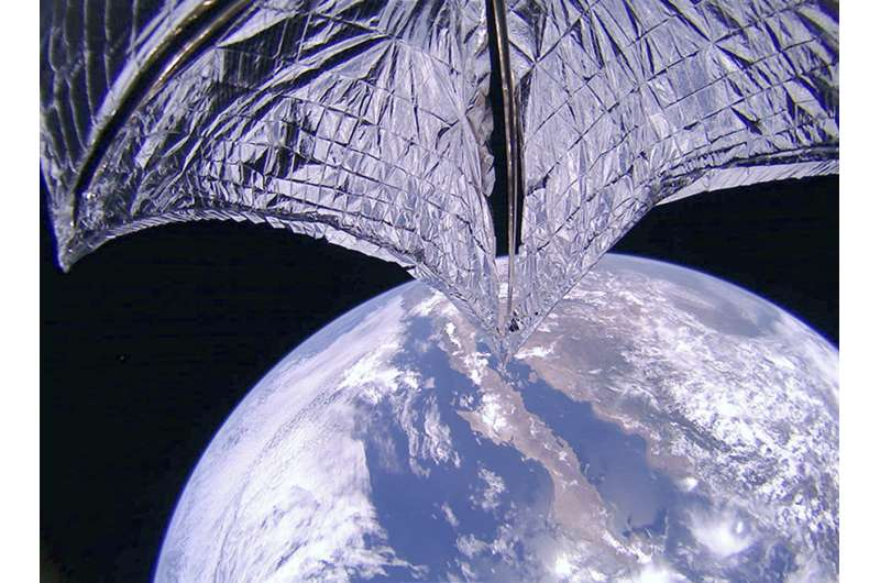 Images show Lightsail 2 spacecraft's solar sail has deployed