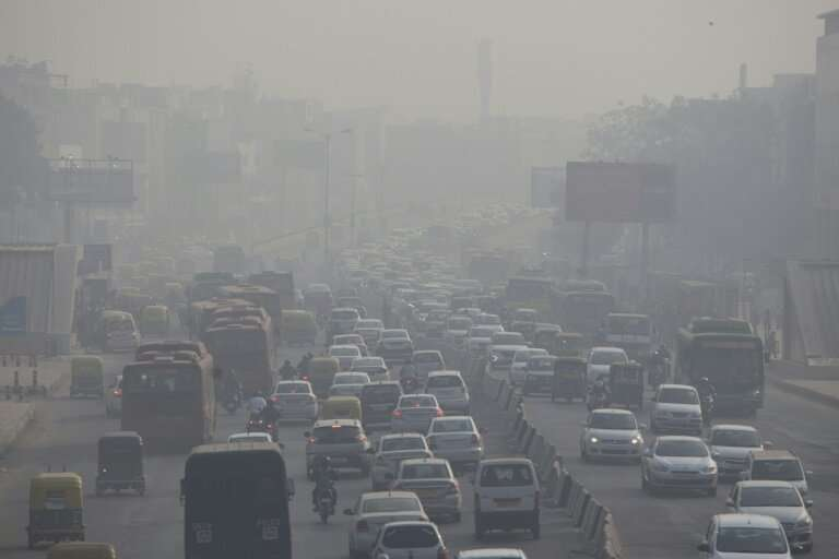India has one of the world's fastest growing economies, but it is also home to seven of the most polluted cities