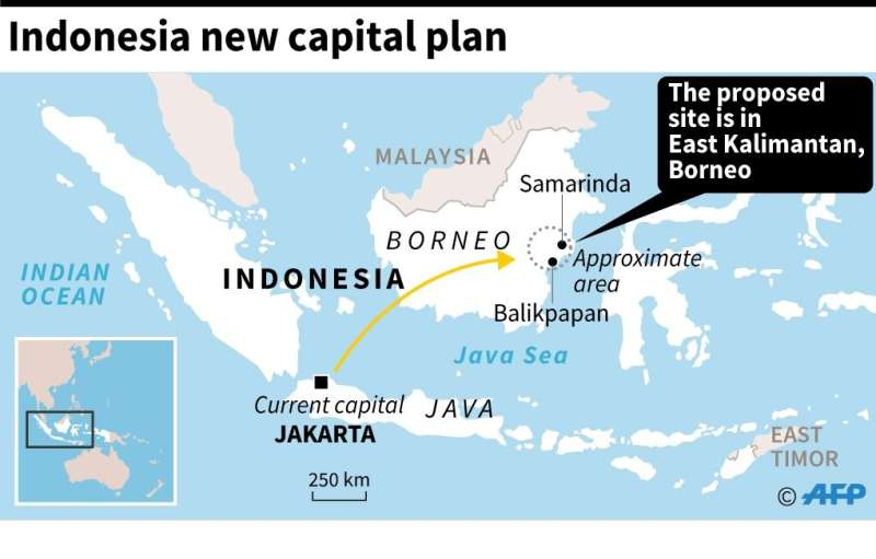 Indonesia new capital plan