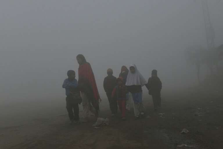 In South Asia air pollution is set to shorten children's lives by 30 months and in East Asia by 23 months