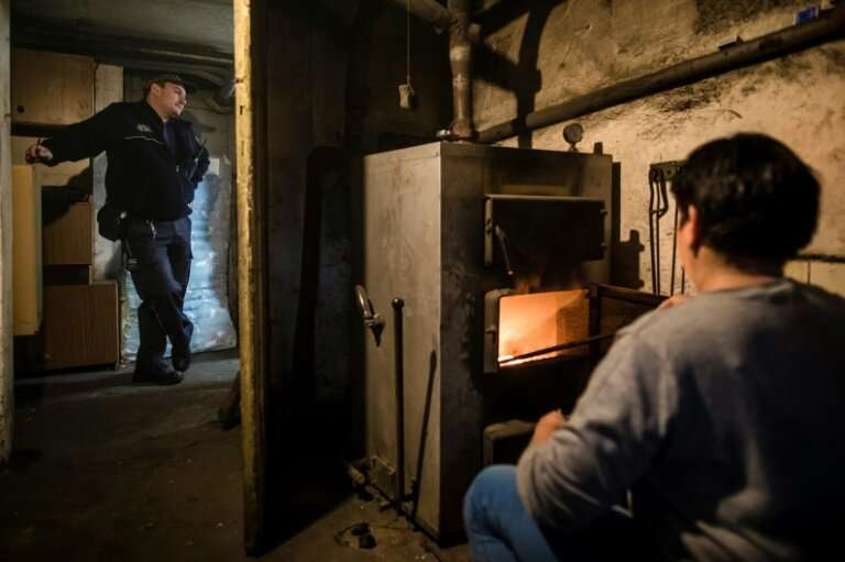 In southern Poland, municipal police make spot checks on homes where people are illegally burning highly-polluting rubbish