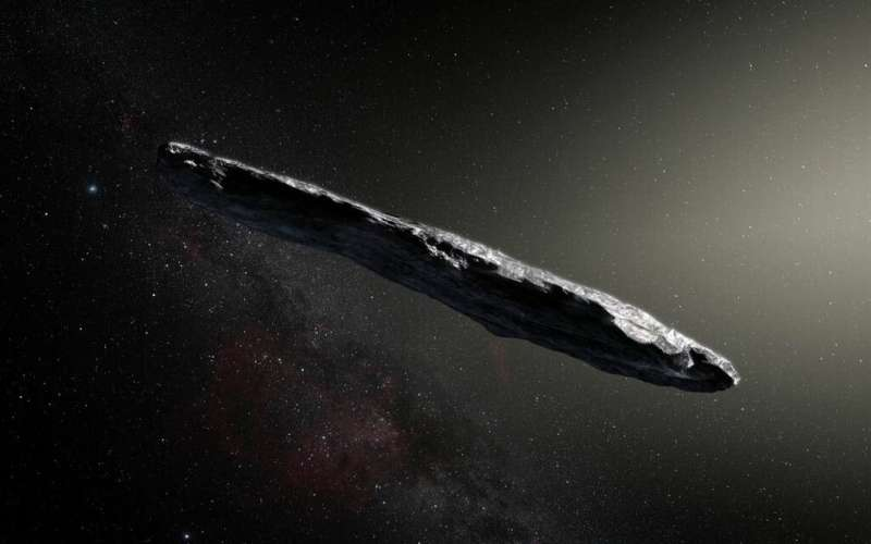 Interstellar objects like 'Oumuamua probably crash into the sun every 30 years