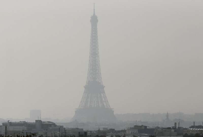 It can be difficult to see a way to meet the Paris climate deal goals through the smog