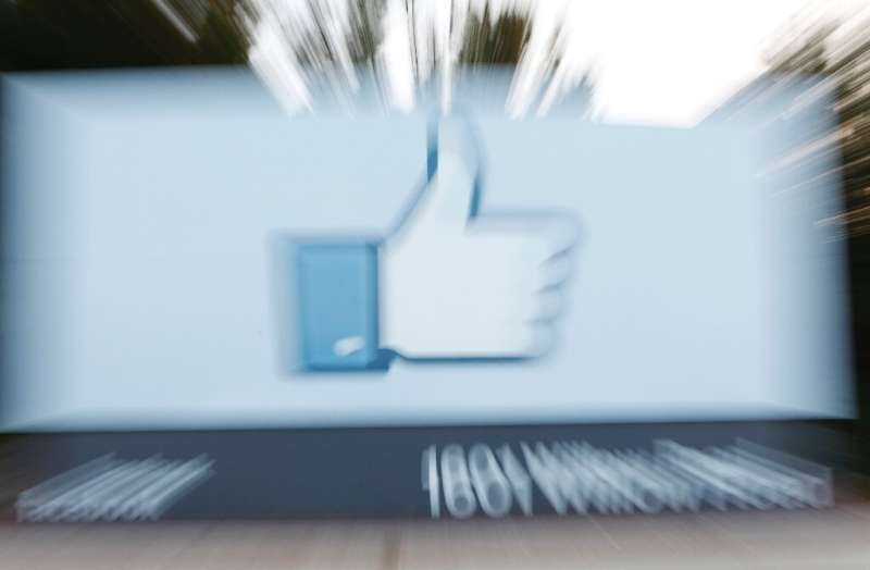 It is not clear to users that clicking on the 'like' button sends data to Facebook, said the court